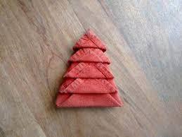 tree napkin fold wunderlabel