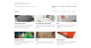 workality lite free wordpress portfolio theme by northeme