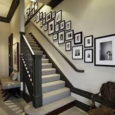 Staircase Wall Ideas Staircase Wall Decorating Ideas Fusion Staircase Other By