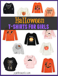 halloween shirts for girls joy in the works