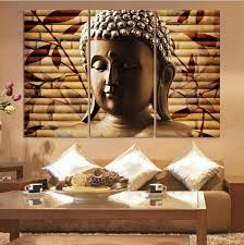 buddhist home decor stunning design buddha home decor print large canvas asia religion