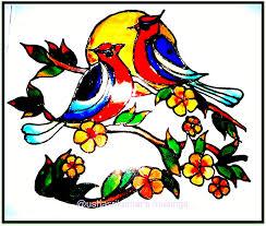 usha srikumars musings december 2011 stained glass painting love