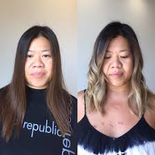 ashy brown highlights on dark asian hair yelp