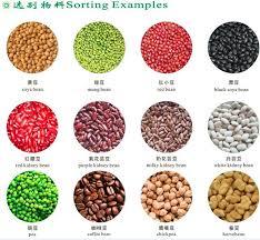 color selection selection machine color sorting machine máquina de clasificación del