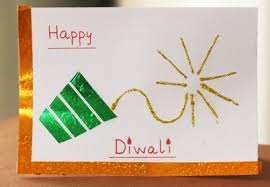 Creative Ideas To Make Greeting Cards - best ideas to create greetings card for diwali 2013 using waste things