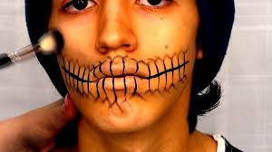 Halloween Skeleton Faces by Skeleton Mouth Halloween Tutorial Youtube