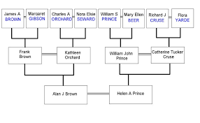 how the eight families are linked