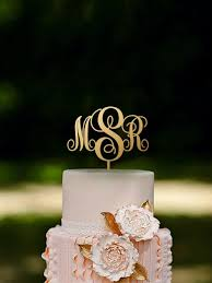 monogram cake toppers initial cake topper monogram cake topper name cake topper