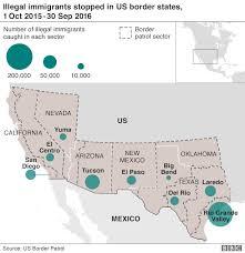 map usa mexico border donald we will build mexico border wall zehabesha