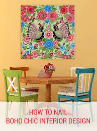 5 ways to nail bohemian decor without having it look clich how to nail boho chic interior design wall art prints