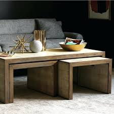 wood nesting coffee table nesting tables wood nesting table sgmun club