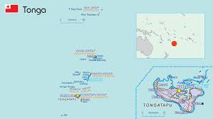 tonga map tonga pacific community