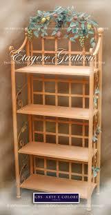 etagere ferro etagere in ferro battuto librerie mensole scaffali originali