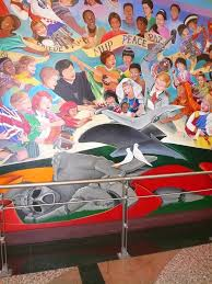 Denver Airport Murals Conspiracy Theory by Flickr Photos Tagged Leotanguma Picssr