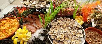 cuisine malo restaurant la cabane à malo buffet de fruits de mer à volonté