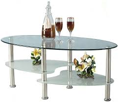 frosted glass coffee table clear glass coffee table