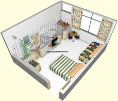 Best Studio ApartmentDorm Room Ideas Images On Pinterest - Studio apartment layout design