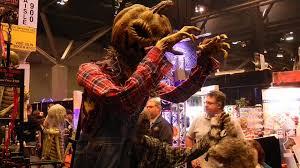 scarecrow halloween prop huge pumpkin scarecrow prop animatronic animated jack squat