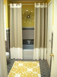 Yellow Paisley Shower Curtain by Bathroom Ravishing White Bathtub Ideas With Elegant White Shower