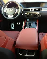 lexus gs interior picked up a 2013 gs 350 f sport starfire pearl cabernet