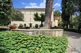 Walled Garden For Sale by Historic Villa For Sale Near Spoleto