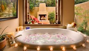 bathroom tub decorating ideas how to floral bath bombs idea digezt