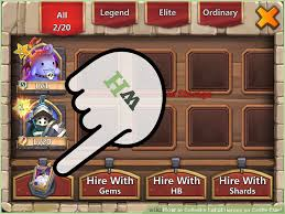 Home Design Story Free Gems 4 Ways To Collect A Lot Of Heroes On Castle Clash Wikihow
