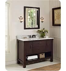 fairmont designs bathroom vanities fairmont designs 1506 vh48 napa 48 open shelf modern bathroom vanity