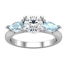 aquamarine and diamond ring 3 aquamarine engagement ring portfolio durham
