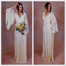 bohemian wedding dresses boho wedding dresses with sleeves naf dresses