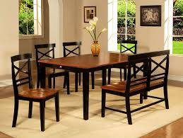 Two Tone Dining Room by Furniture Delightful Two Tone Casual Back Dining Room Set Round