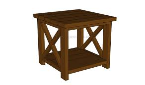 furniture small wood end table plans 92 craftsman style small