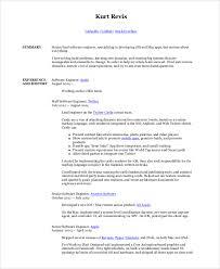 software engineer resume sle software engineer resume 8 exles in word pdf