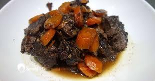 comment faire cuire de la joue de bœuf confite au vin