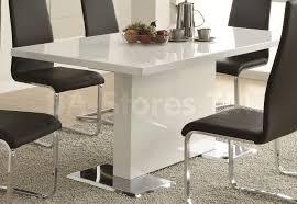 Cortona Extending Dining Table by White Dinner Table Interiors Design