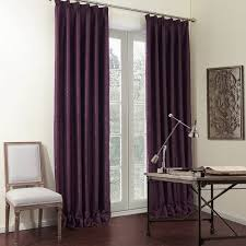 Premium Curtains Twopages Zoomtist Collection Premium Solid Purple Luxurious