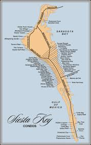 Casey Key Florida Map by Map Of Siesta Key Florida Condos
