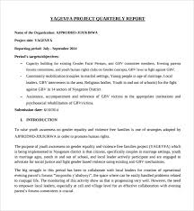 business quarterly report template business quarterly report template sle project quarterly report
