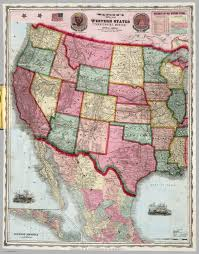 map usa central america western states mexico central america david rumsey historical
