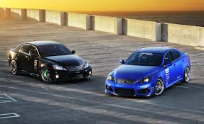 lexus sports car isf lexus is f by import tuner magazine tein to debut at sema show