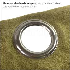 Curtains With Brass Eyelets Eyelet Machines Poppers Rivets Snap Fastener Buttons Magnetic