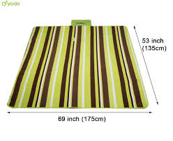 Camping Outdoor Rugs by Yodo Picnic Blanket Tote 69x53 Camping Mat Outdoor Waterproof Pad