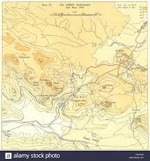 Map East Africa by Eritrea East Africa The Keren Battlefield Feb Mar 1941 1954