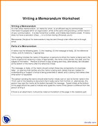 5 writing a memorandum nurse resumed