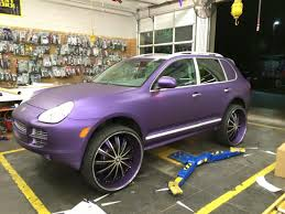 porsche purple porsche cayenne west coast car audio stockton ca us 68310