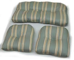 home decoration 3 piece green stripped cushions for indoor