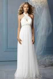 empire wedding dress buy cheap halter empire a line wedding dresses