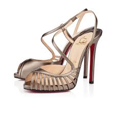 for sale uk louboutin gold wedges platforms 270 30
