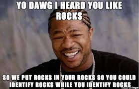 Learning Meme - learning about metamorphic rocks in geology lab adviceanimals