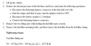 2004 hyundai sonata fuel filter hyundai xg350 l fuel filter location